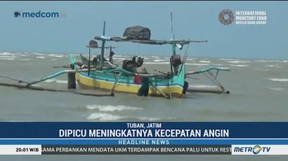 BMKG Imbau Warga Tuban Jauhi Laut
