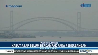 Kabut Asap Selimuti Sumatera Selatan