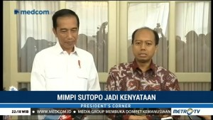 Presiden Jokowi Apresiasi Kinerja Sutopo di BNPB