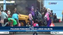 Puluhan Pengungsi dari Palu Tiba di Jakarta