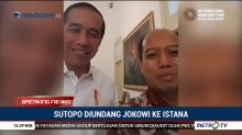 Sutopo Diundang Jokowi ke Istana