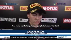 Ana Carrasco, Pembalap Wanita Pertama Juara Balap Motor Dunia