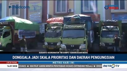 Media Group Salurkan Bantuan ke Posko Pengungsian di Donggala