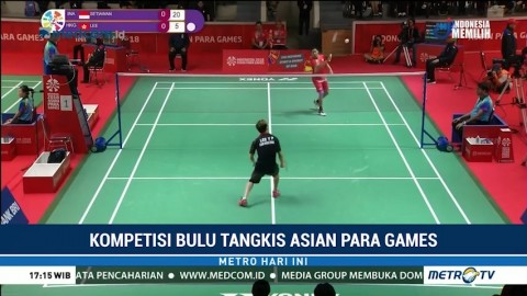 Asian Para Games, Bulu Tangkis Beregu Putra RI Menang atas Hong Kong