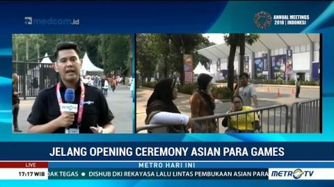 Tiket Pembukaan Asian Para Games 2018 Ludes Terjual