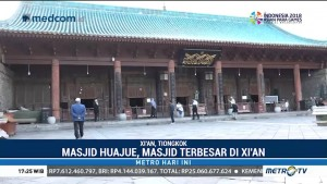 Berkunjung ke Muslim Quarter di Kota Xi'an Tiongkok
