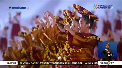 Opening Ceremony Asian Para Games 2018 (2)