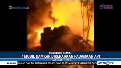 Gudang Arsip Dinas LHK Palembang Terbakar
