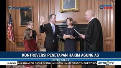 Brett Kavanaugh Dilantik Jadi Hakim Agung AS