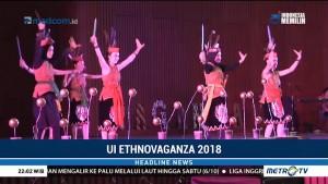 Ragam Budaya Indonesia Dipamerkan di UI Ethnovaganza 2018