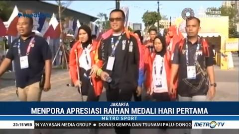 Menpora Apresiasi Raihan Medali Tim Paralimpik Indonesia di Hari Pertama