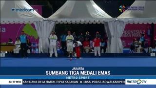 Cabor Lawn Bowl Sumbang Tiga Medali Emas untuk Indonesia