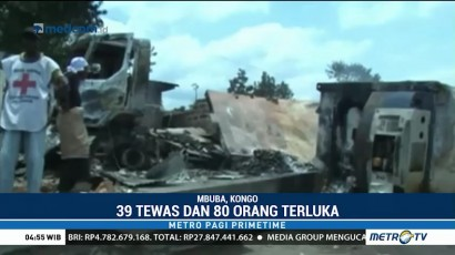 Kebakaran Truk di Kongo, 39 Orang Tewas
