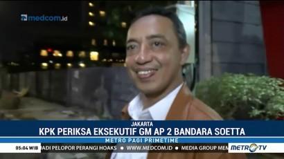 GM Angkasa Pura II Bandara Soetta Diperiksa KPK