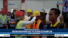 Warga Binaan di 12 Lapas Diberikan Pelatihan Konstruksi