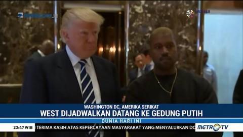 Kanye West dan Donald Trump akan Makan Siang Bersama di Gedung Putih