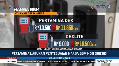 Harga BBM Non Subsidi Naik