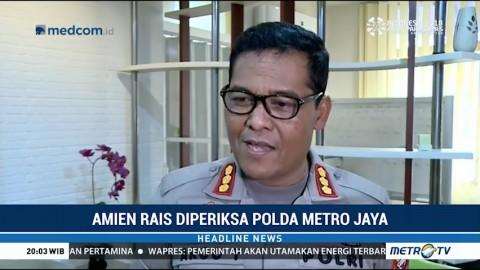 Polda Metro Klarifikasi Tudingan Amien Rais
