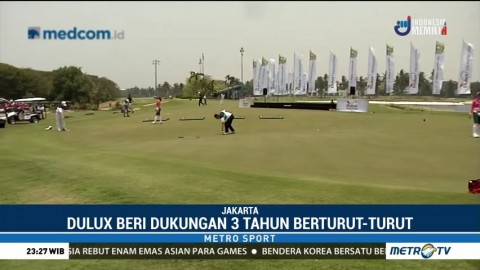 Turnamen Golf AQ Dulux Invitational 2018 Digelar di PIK