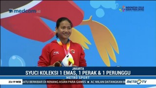 Syuci Indriani Koleksi Medali Ketiga APG 2018