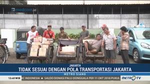 Pengamat: Becak Tak Sesuai dengan Pola Transportasi Jakarta