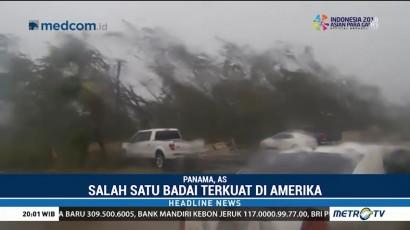 Badai Michael Terjang Panama