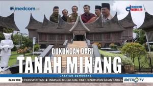 Dukungan dari Tanah Minang (1)