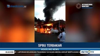 SPBU di Bogor Terbakar