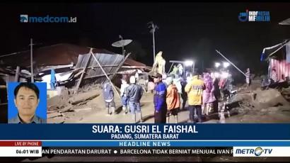 Banjir dan Longsor Landa Sejumlah Wilayah di Sumbar, 4 Orang Hilang