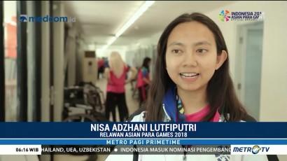 Peran Relawan di Asian Para Games 2018