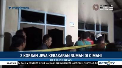 Kebakaran Rumah di Cimahi Tewaskan Ibu dan Dua Anaknya