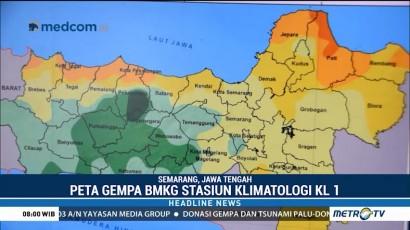 BMKG Jelaskan Beberapa Patahan Rawan Gempa di Jateng