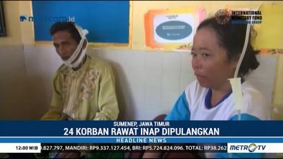 24 Pasien Korban Gempa Sumenep Dipulangkan Hari Ini