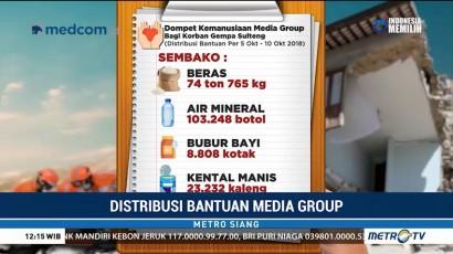 Media Group Salurkan Bantuan Korban Gempa Hingga Masa Pemulihan