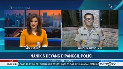 Polisi Panggil Nanik S Deyang Terkait Kasus Hoaks Ratna
