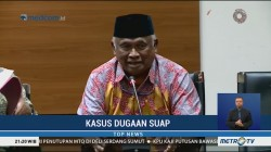 Taufiequrachman Ruki Ceritakan Kronologi Penyerahan Diri Eddy
