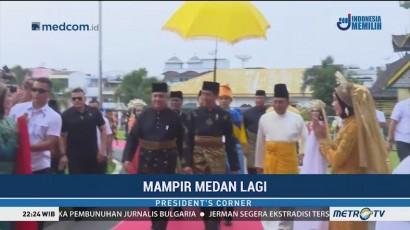 Jokowi Mampir Medan Lagi