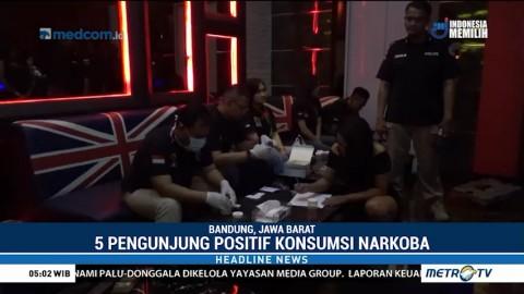 Razia Narkoba di Bandung, Lima Orang Diamankan