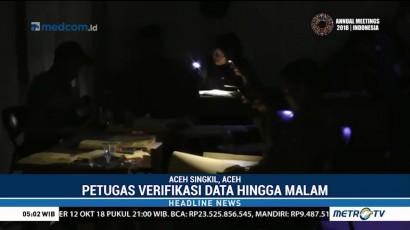 Listrik Padam, Antrean Pendaftaran CPNS di Aceh Hingga Malam Hari