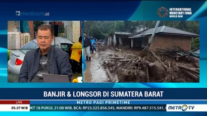 Banjir dan Longsor di Sumbar, 8 Tewas dan 2 Lainnya Hilang