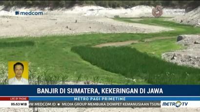 Banjir di Sumatera, Kekeringan di Jawa