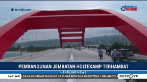 Pembangunan Jembatan Holtekamp Terhambat Akibat Sengketa Tanah Adat
