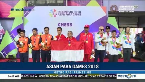 Tim Cabor Catur Raih Total 11 Medali Emas untuk Indonesia