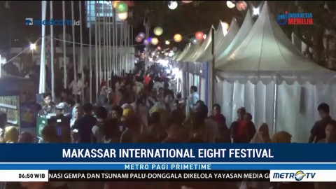 Warga Antusias Ramaikan Makassar International Eight Festival