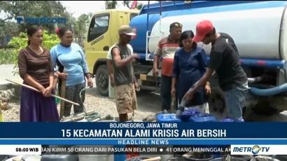 15 Kecamatan di Bojonegoro Krisis Air Bersih