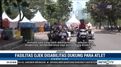 Fasilitas Ojek Disabilitas Dukung Para Atlet Asian Para Games