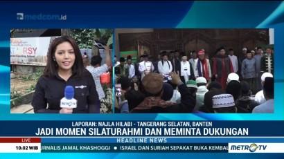 Ma'ruf Amin Silaturahmi ke Pesantren Jagat Arsy