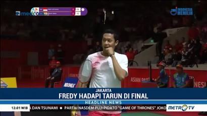 Fredy Setiawan Sumbang Medali Perak untuk Indonesia