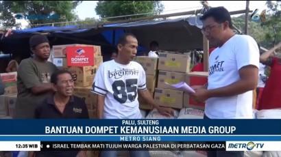 Bantuan Dompet Kemanusiaan Media Group Terus Disalurkan