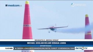 Michael Goulian Juara Red Bull Air Race di Indianapolis